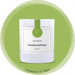Vera Young Świeca Basic LEMONGRASS & GINGER