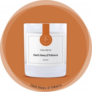 Vera Young Świeca Basic DARK HONEY & TOBACCO