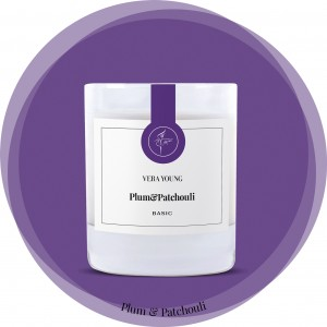 Vera Young Świeca Basic PLUM & PATCHOULI