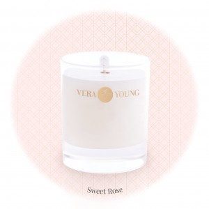 Vera Young Świeca Basic SWEET ROSE