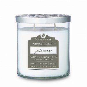 Goose Creek Tumbler PATCHOULI & VANILLA Aromatherapy Collection