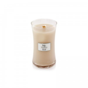 WoodWick Świeca duża WHITE HONEY