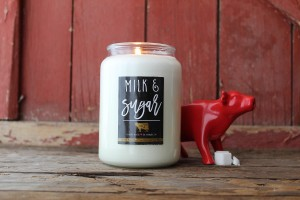 Milkhouse Farmhouse Świeca duża MILK & SUGAR