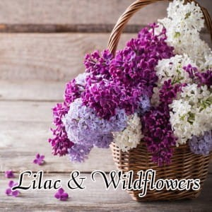 Milkhouse Wosk LILAC & WILDFLOWERS
