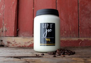 Milkhouse Farmhouse Świeca duża CUP O'JOE