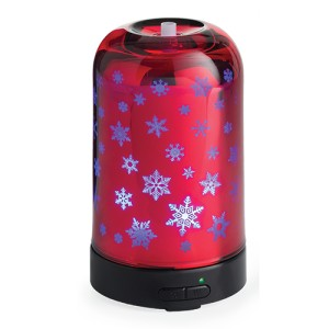 Candle Warmers Dyfuzor ultrasoniczny GLASS SNOWFLAKE