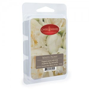 Candle Warmers Wosk WHITE PEONY