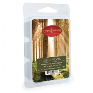 Candle Warmers Wosk SERENE WOODS