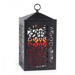 Candle Warmers Lampa do świec SCROLL BLACK